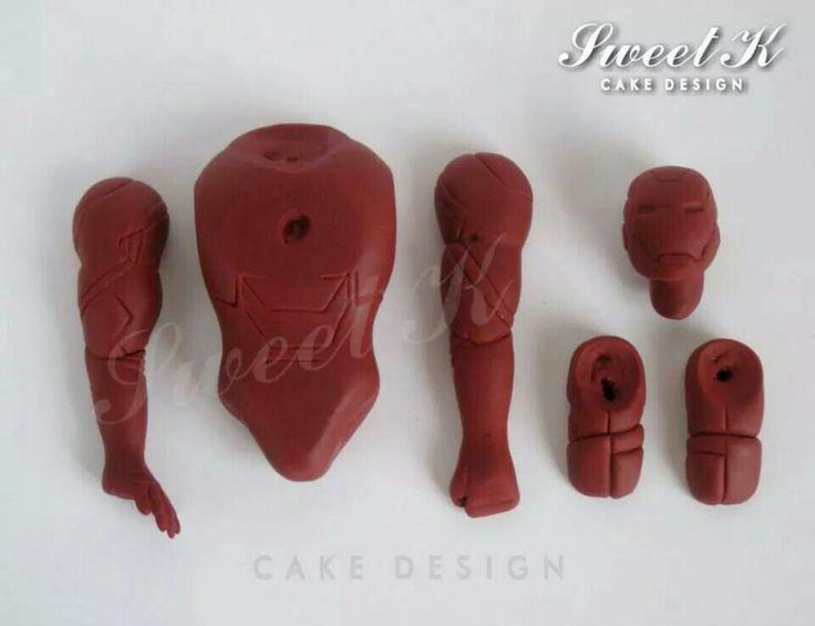 55 best Ironman cakes images on Pinterest Ironman cake