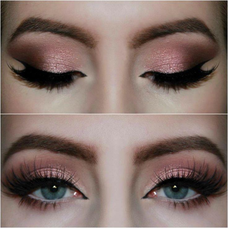 Rose Gold Smokey Eye! Tutorial: https://www.youtube.com/watch?v=gYf_tFuc--o