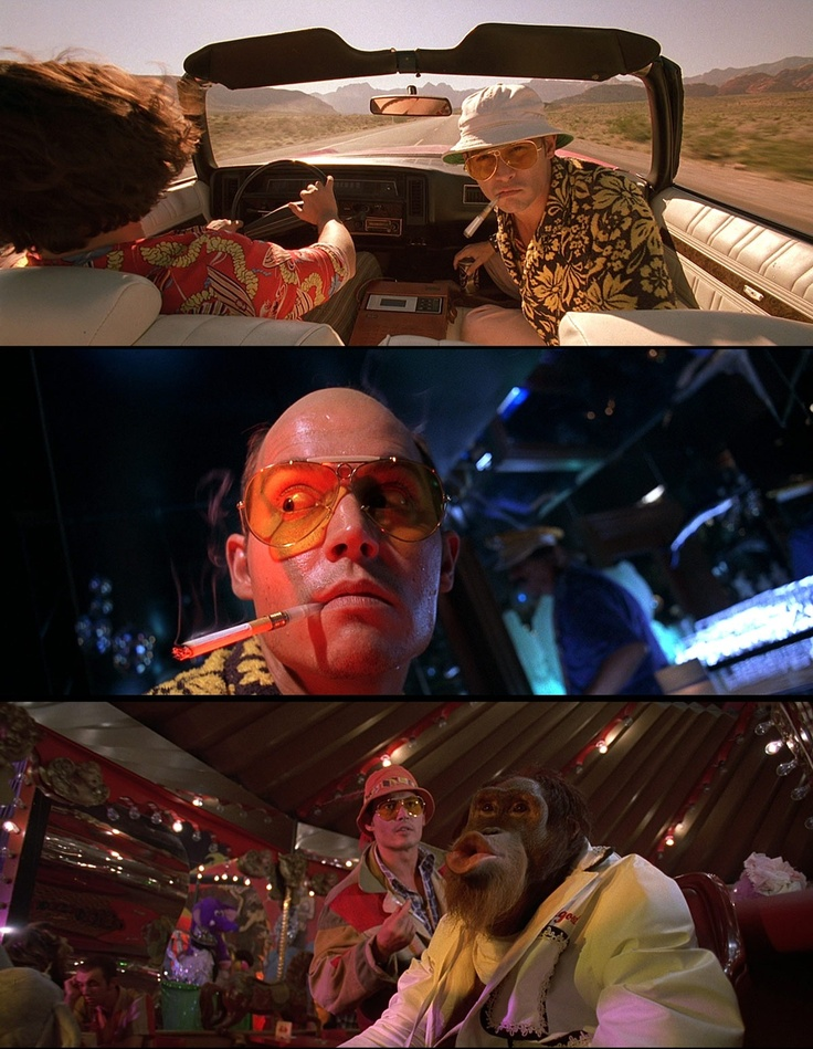 the depiction of lsd in fear and loathing in las vegas a movie by terry gilliam Fear & loathing in las vegas the movie (fear and loathing in las vegas) it's really a testament to terry gilliam's directing ability as.
