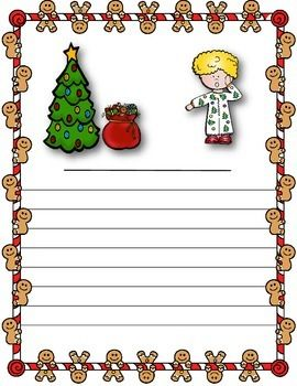 Have students use their imagination and sharpen their creative writing skills by writing the story that goes with the image provided.   Color and black-line copies included!