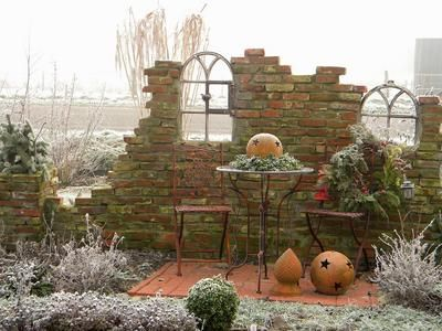 35 best Garten-Ruine images on Pinterest Garden ideas, Garden - garten sichtschutz stein