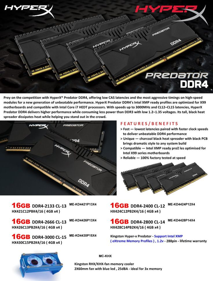 PREDATOR DDR4