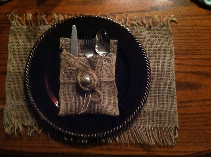 my creation of placemat chocolate charger hobby lobby 199 and silverware holder