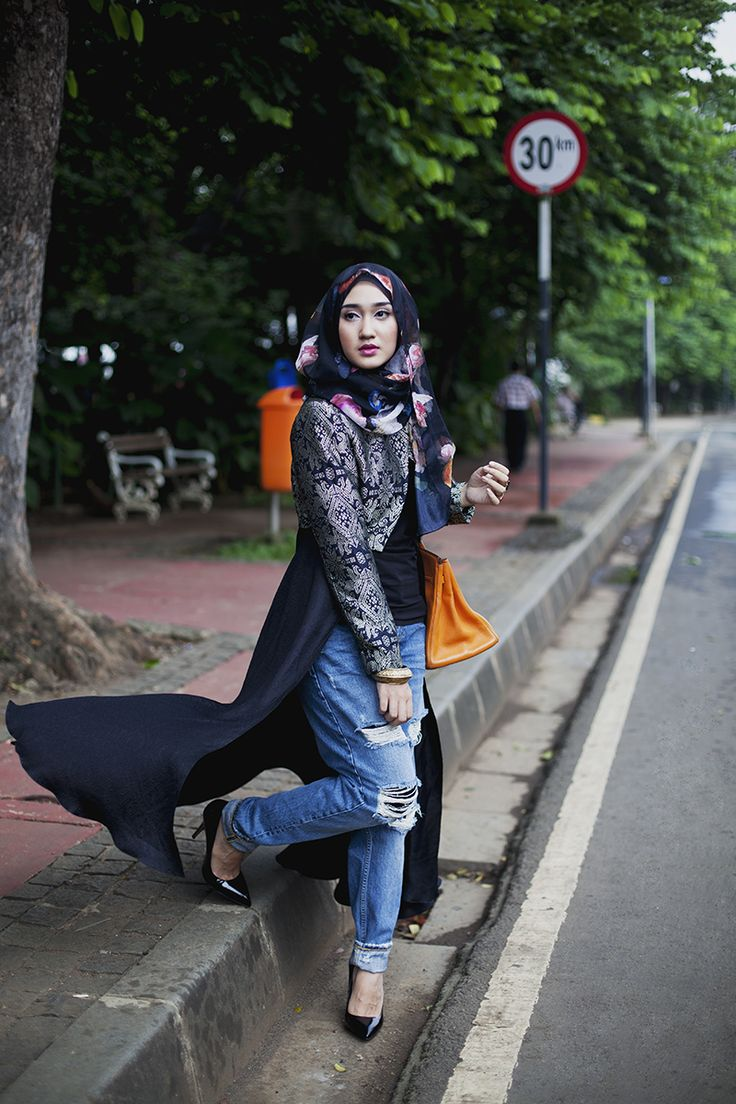 Modest Street Fashion | Dian Pelangi
