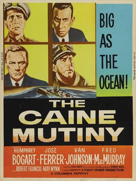The Caine Mutiny 11x17 Movie Poster (1954)