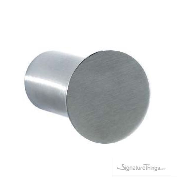 34def79f5d Brushed Stainless Steel Round Hook - Contemporary Coat Hook ...