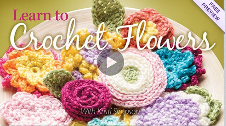 Easy crochet flower patterns class