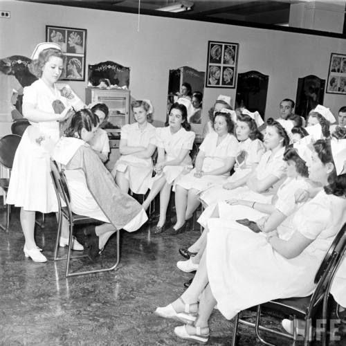 1940's Beauty School