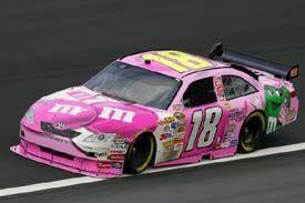I 39 m not a kyle busch fan but love this pink m car kyle busch nascar race cars nascar racing - Pictures of kyle busch s car ...
