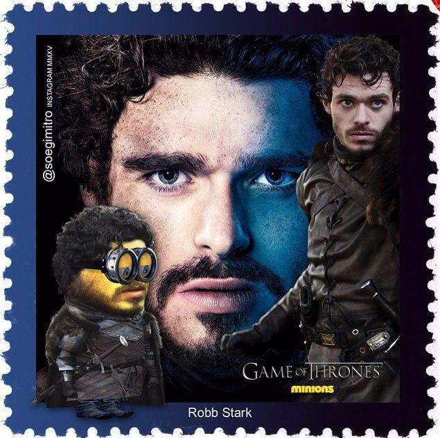 Game Of Thrones Minion - Robb Stark
