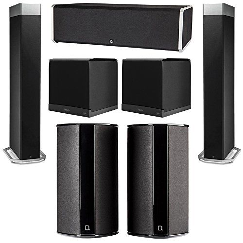 Definitive Technology 5.2 System with 2 BP9080X Tower Speakers, 1 CS9080 Center Channel Speaker, 2 SR9080 Surround Speaker, 2 Definitive Technology SuperCube 6000 Powered Subwoofer You will receive: 2 Definitive Technology BP9080X Tower Speakers + 1 Definitive Technology CS9080 Center Channel Speaker + 2 Definitive Technology SR9080 Surround Speaker + 2 Definitive Technology SuperCube 6000 Powered Subwoofer Definitive Technology Home Theater System Definitive Technology Super