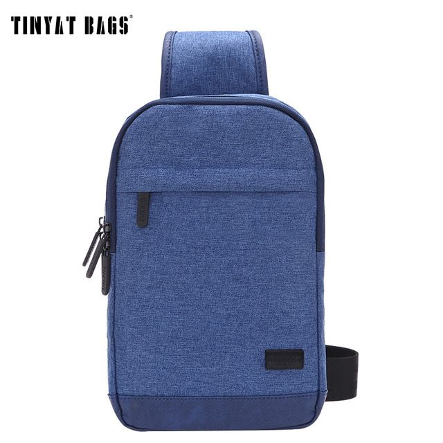 Special offer TINYAT 2016 Fashion Cool Men Casual Waist Pack Chest Bag Six Bags Functional Convenient Money Phone Belt Bag T-602 Blue Black  just only $13.49 with free shipping worldwide  #crossbodybagsformen Plese click on picture to see our special price for you