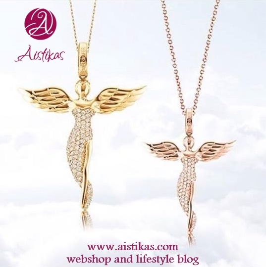 Beautiful Angel pendants by Aistikas.