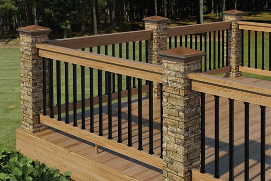 Deckorators® is the industry's pioneer of ornamental covers for deck posts. The next generation of postcovers are durable, water-resistant, hand-painted, fiberglass-reinforced concrete.