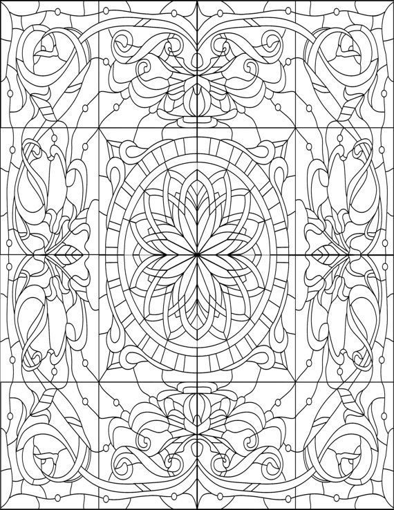 adult coloring book printable coloring pages by joenayinspirations - Watercolor Pages