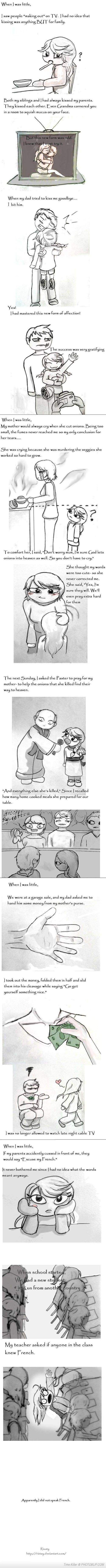 These are hilarious! When I was little... / misconceptions of children