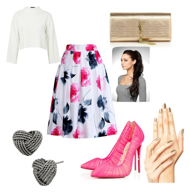 """""""Untitled #8"""" by mayapriskilla on Polyvore featuring Christian Louboutin, Relaxfeel, Yves Saint Laurent, Topshop and Betsey Johnson"""