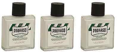 Shaving Creams Foams and Gels: Proraso Refreshing And Invigorating After Shave Lotion, 3.4 Oz (3 Pack) -> BUY IT NOW ONLY: $35.99 on eBay!