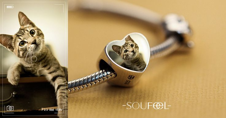 Turn your treasured photos into personalized charms.  SOUFEEL Personalized Memorable Charms, for every memorable day !