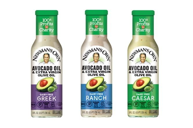 Newman S Own Avocado Oil Dressings Reviews Info Dairy Free In 2020 Dairy Free Dairy Free Salad Dressing Dairy Free Salads