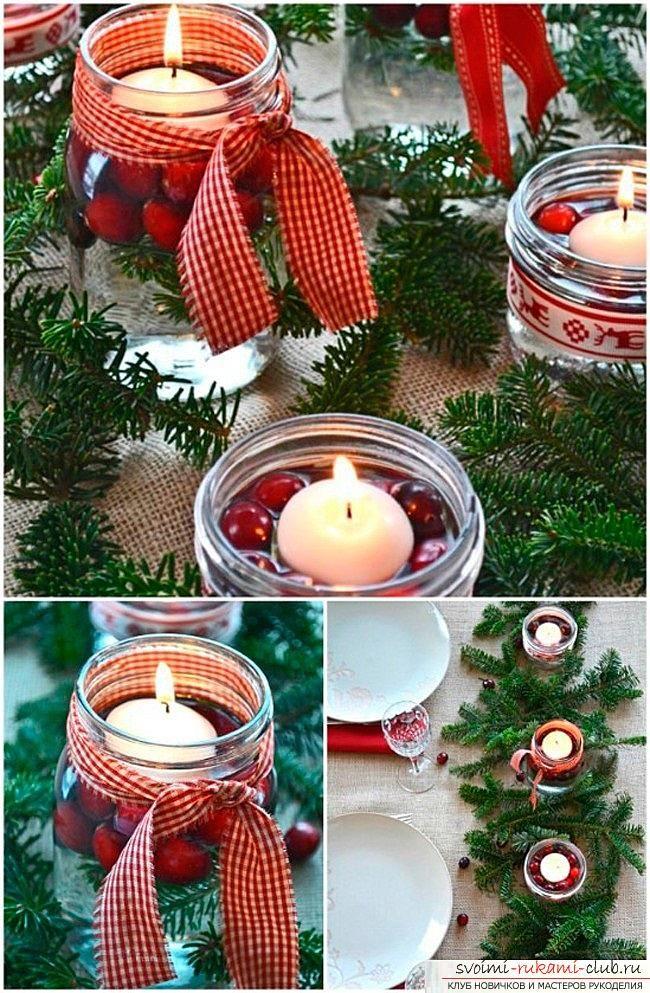 Fazendo artesanato de Ano Novo como snegovichkov, sabonete artesanal, castiçais idéias decoração, uma master class na criação bezognevogo fogo.  Foto №5