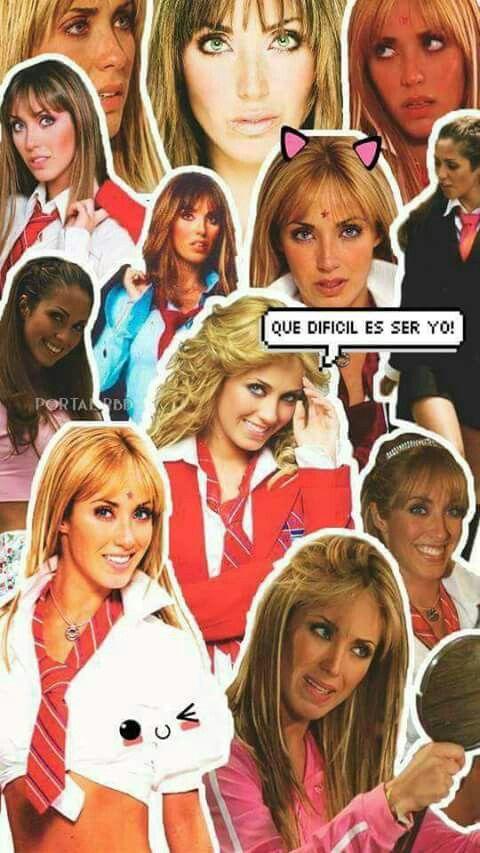 #anahi #miacolucci #RBD #televisa #mexico #collage