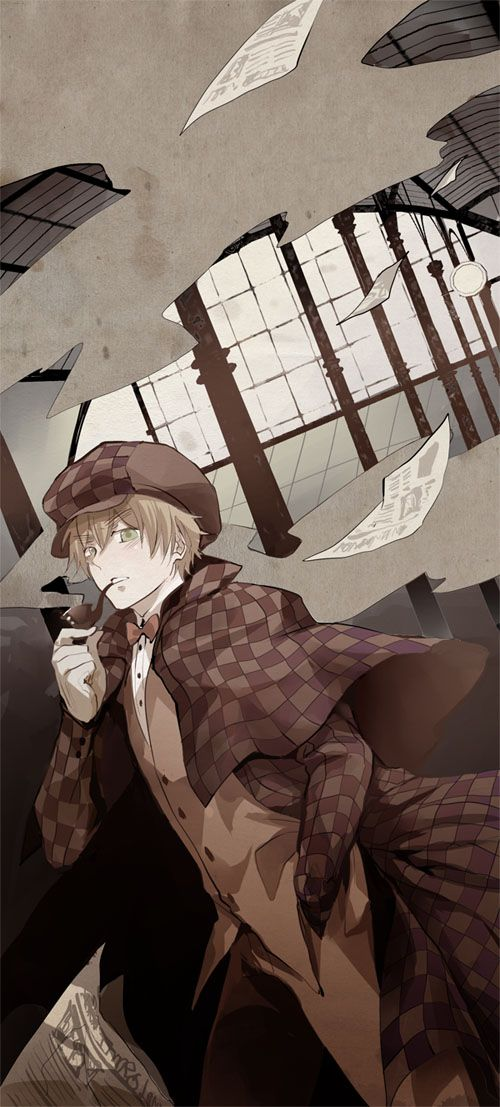 Sherlock Holmes by nairchan.deviantart.com on @deviantART