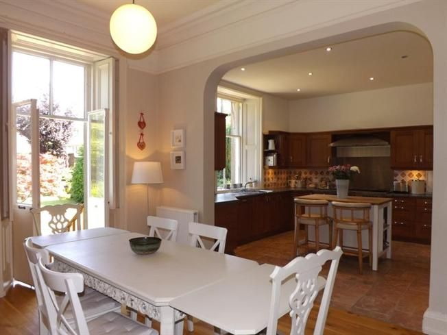 Knocked Through Kitchen And Dining Room Pinterest