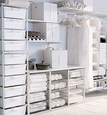 Antonius system, Ikea's least expensive clothing storage system.