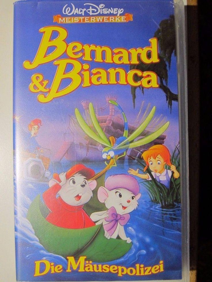 Bernard und Bianca - Walt Disney, VHS - NEU & OVP