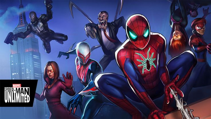 MARVEL Spider-Man Unlimited - Android Gameplay.