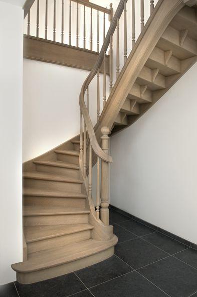 25 beste idee n over houten ladder inrichting op pinterest houten ladders houten ladder en - Ideeen deco trappen ...