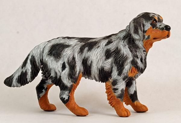 Schleich Custom Dog   Blue Merle Ranch by Meredith McFadden