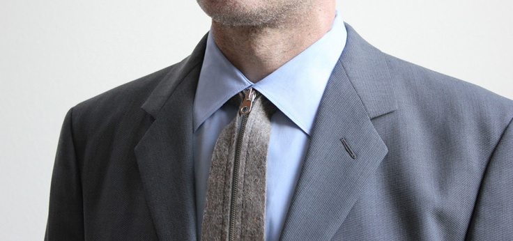 Actual - Zipper Tie, how many guys would actually wear this?