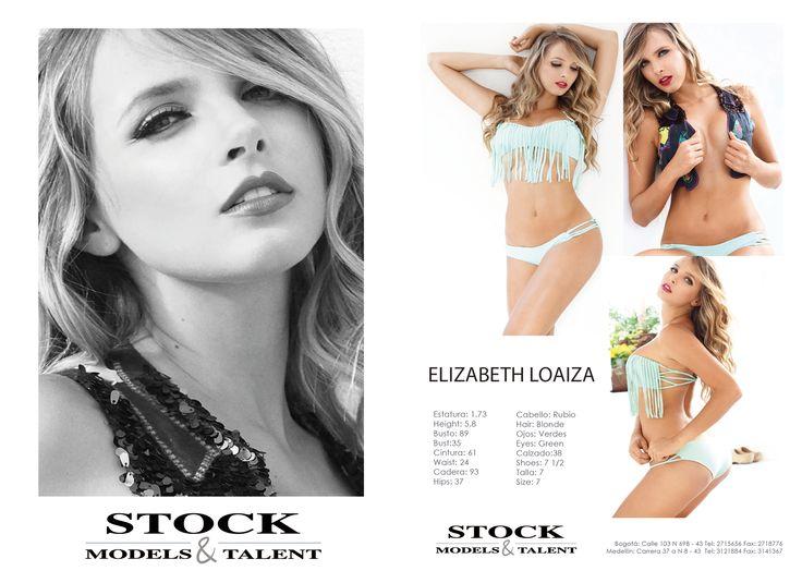 Elizabeth Loaiza - Modelo Stock Models -