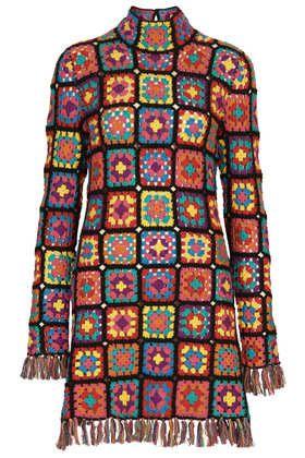 INSPIRATION ~Granny tunic / dress {Meadham Kirchhoff}