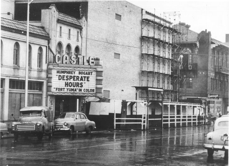 Castle theatre 1955 vancouver wa clark county