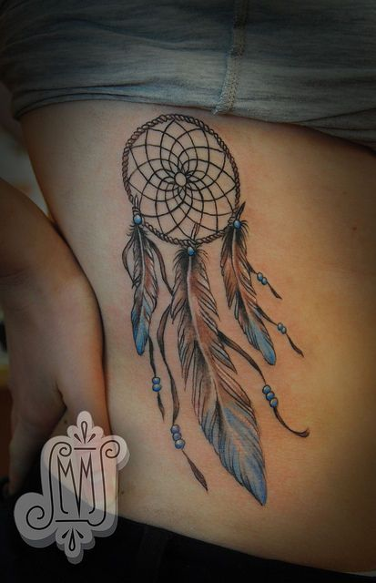 ahhh!!! I just decided that I want a Dreamcatcher tattoo. This is the first one I've seen... Not exactly what I'm looking for, but fuels my ideas