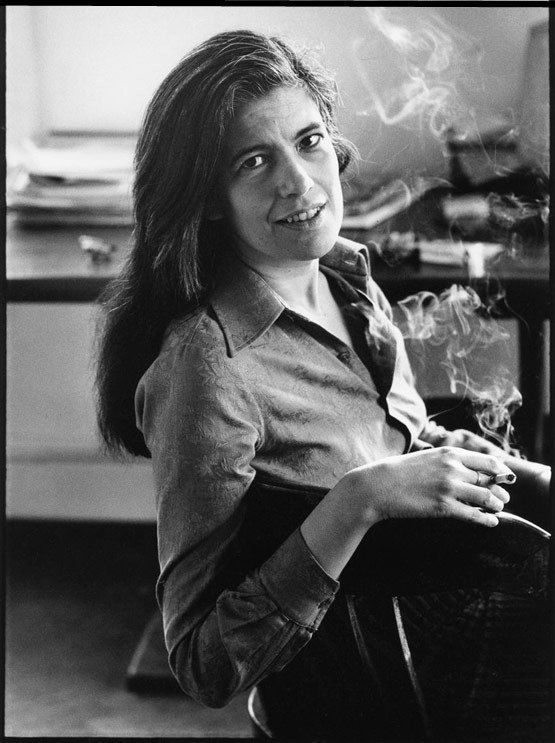 """Intelligence is really a kind of taste: Taste in ideas."" --Susan Sontag. photo by Annie Leibovitz"