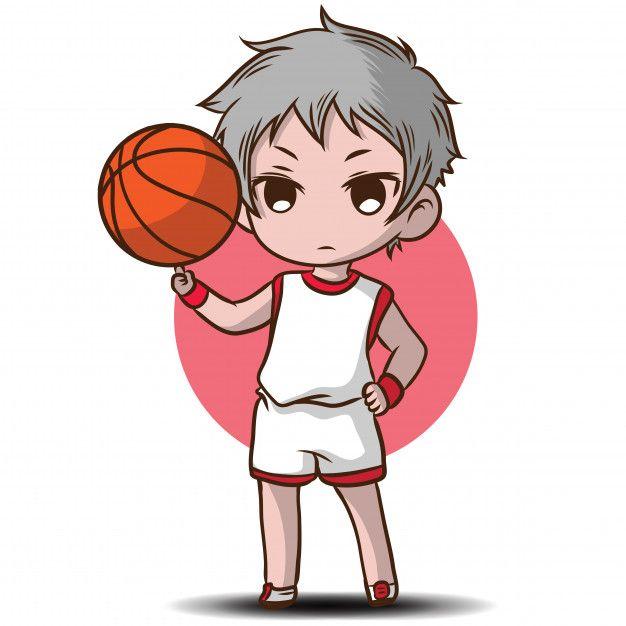 Freepik Graphic Resources For Everyone Chibi Characters Basketball Anime Cartoon