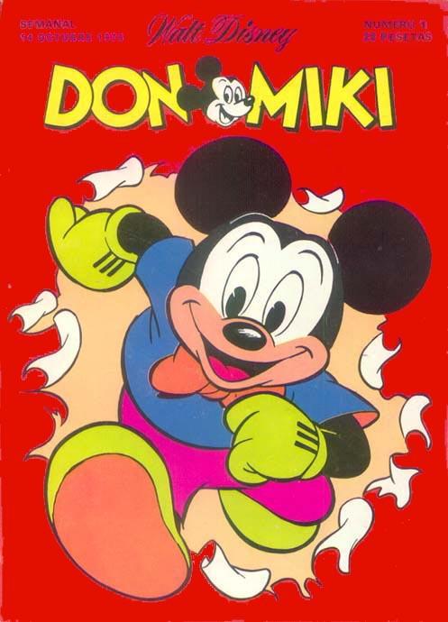 Portada Don Miki nº 1