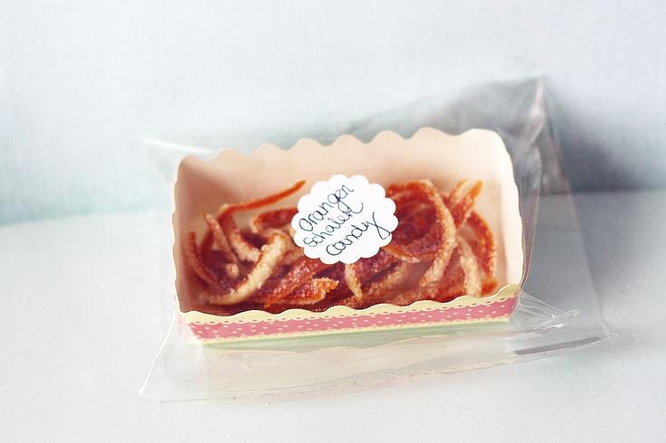 Orangenschalen Candy: Lasst Uns, Uns Picknicken