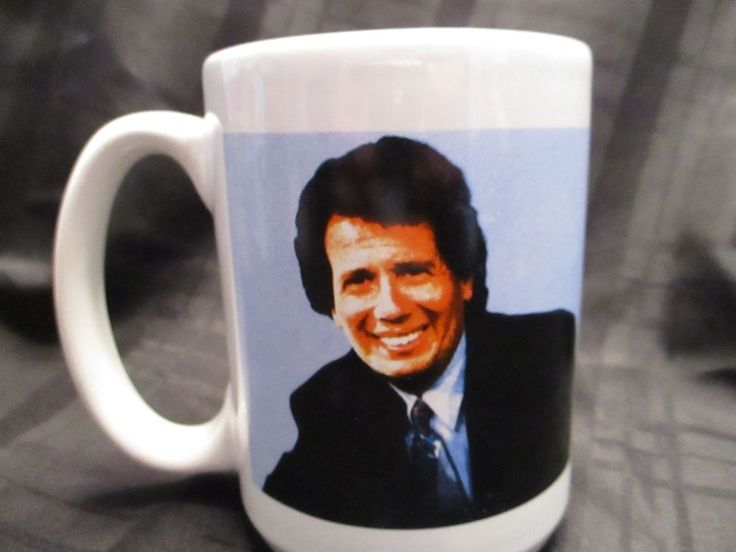 THE LARRY SANDERS SHOW Starring GARRY SHANDLING Coffee Mug HBO Promotional Press