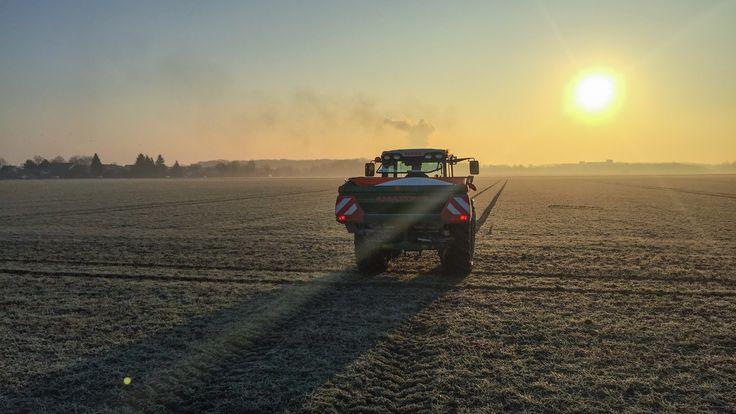 #weizen streuen #LG #Limagrain #Landwirtschaft