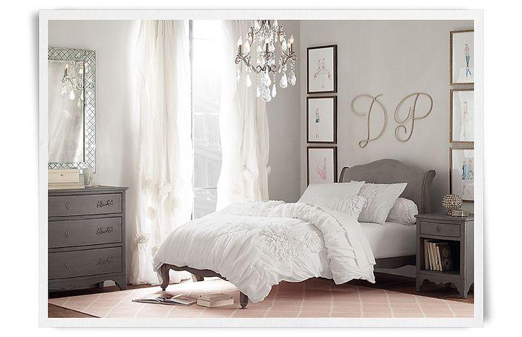 Lea Upholstered Platform Bed Rooms Restoration Hardware