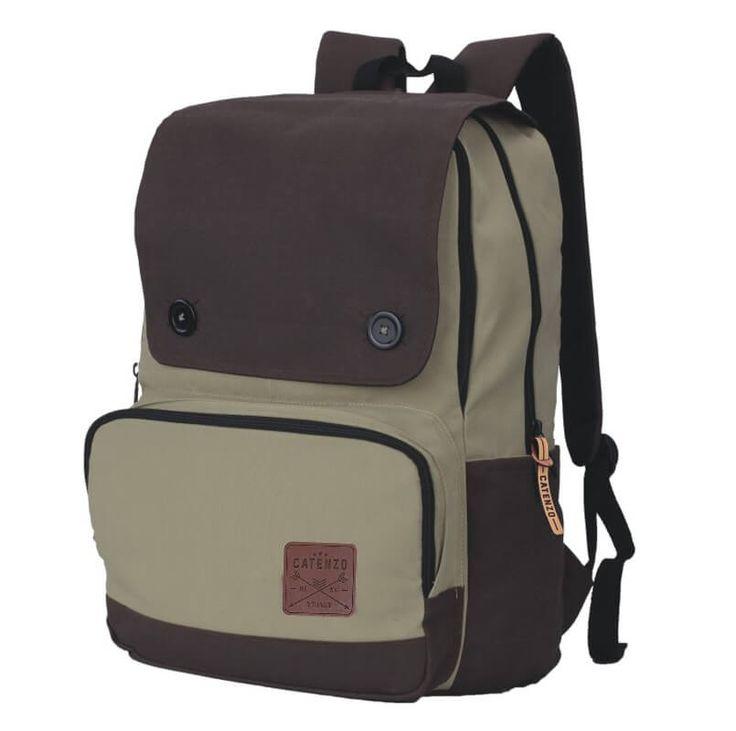 Tas Ransel Laptop / Backpack Casual Unisex Pria Wanita - YD 029. Produk fashion handmade asal Bandung dengan bahan nyaman digunakan, desain trendy dan tidak pasaran. Membuat tampil percaya diri.   #Catenzo #Tas Ransel