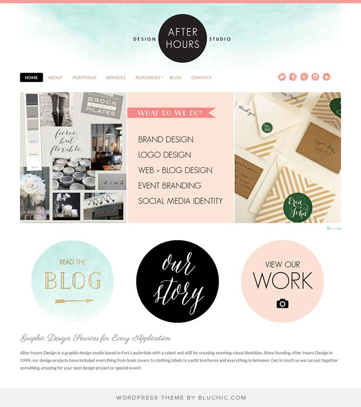 Use Chamomile Theme #WordPress. Shop At Http://www.bluchic. Website  IdeasWebsite DesignsWebsite ...