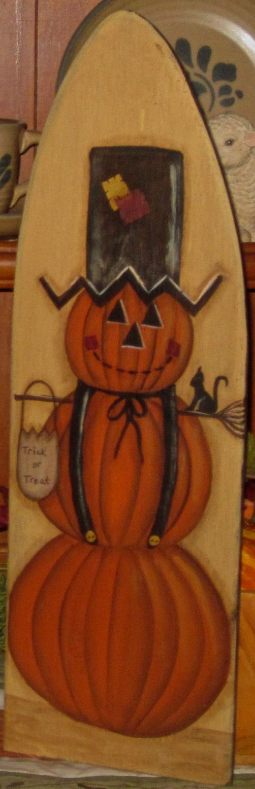 Primitive HP Folk Art Scarecrow