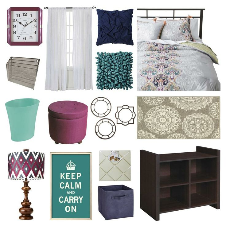 Boho Chic Bedroom. Perfect for a dorm or college student.
