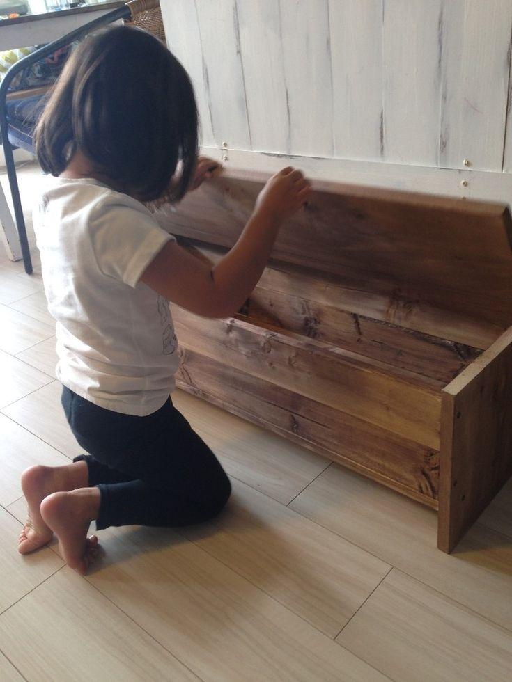 玄関収納スペースに収納&ベンチにもなるボックスをDIY|LIMIA (リミア)